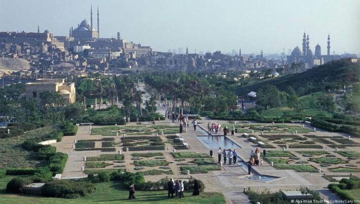 Taman Al-Azhar Salah Satu Ikon Kairo